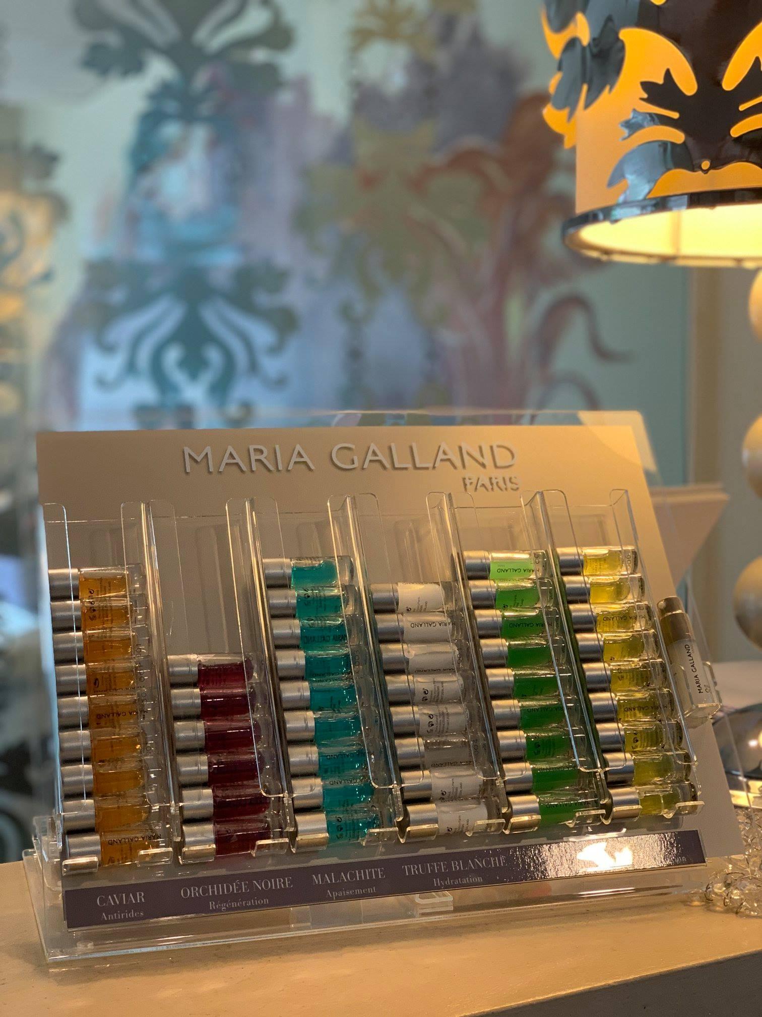 I trattamenti e prodotti esclusivi Maria Galland -Paris